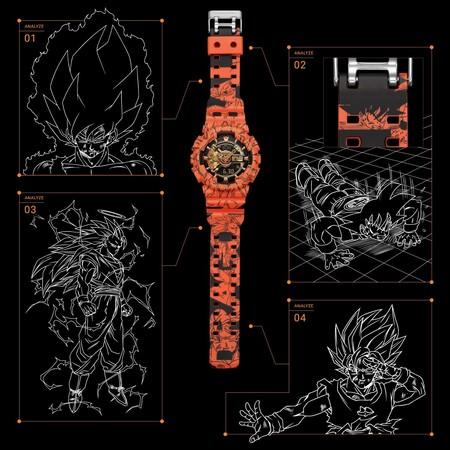 Casio G Shock Dragon Ball Z 3