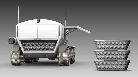 Jaxa And Toyota Pressurised Rover Concept 3