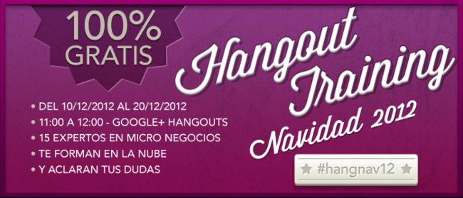 Hangout training navidad