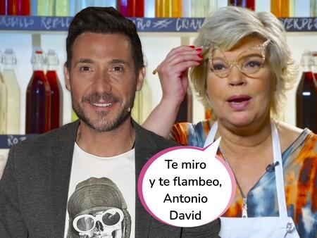 Masterchef Celebrity 6: Terelu Campos se acuerda de Antonio David Flores (el que no debe ser nombrado) durante el cocinado de exteriores