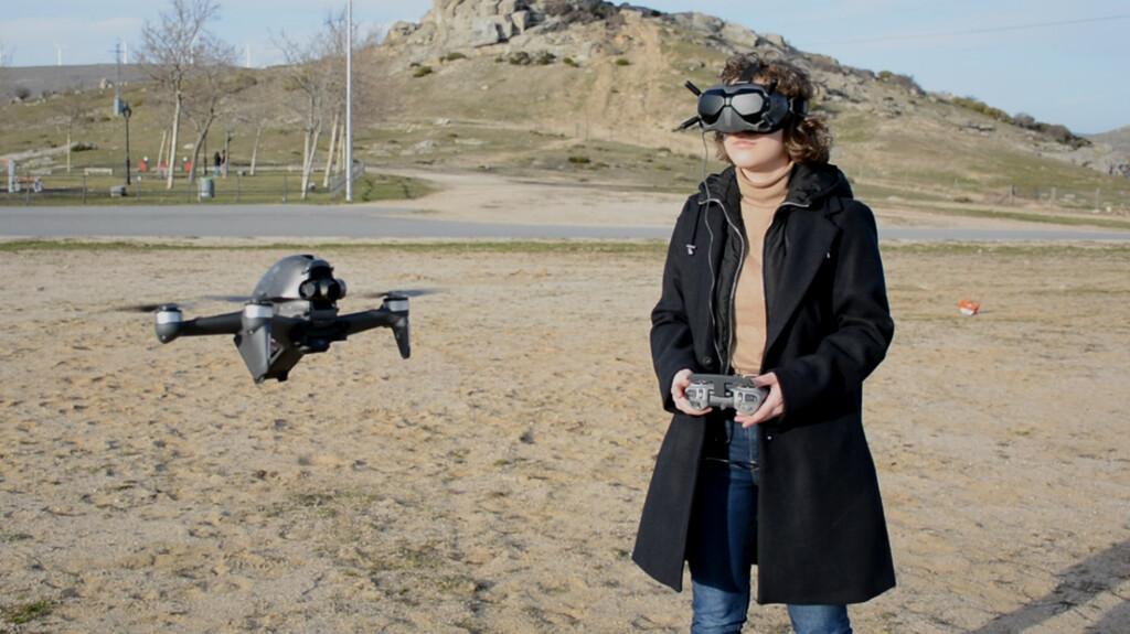 DJI FPV, análisis: pilotar un dron en primera persona es una experiencia como nunca antes