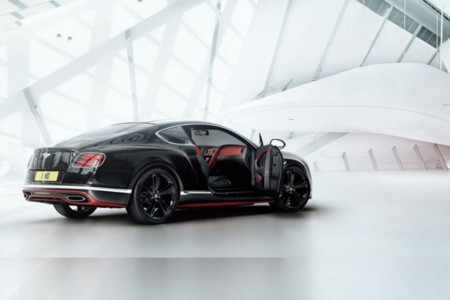 Bentley Continental Gt Black Speed 01