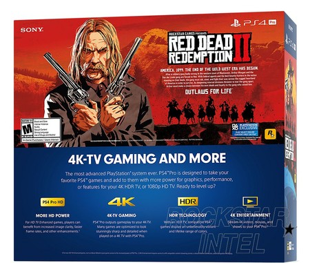 Red Dead Redemption 2 Ps4 Box