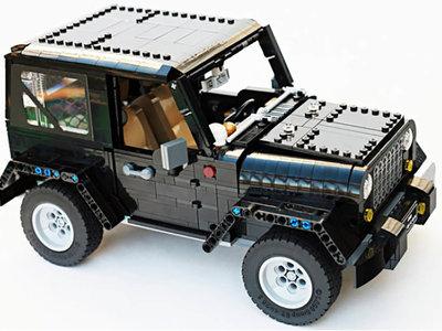 Este Jeep Wrangler de Lego te gustará tanto que querrás hacerlo realidad