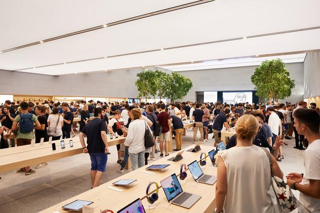 Apple Milan Piazza Liberty Indoor Retail Layout 07262018