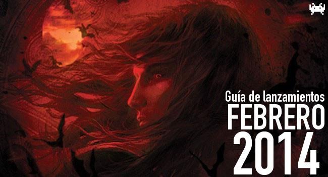 Guía de lanzamientos: febrero de 2014