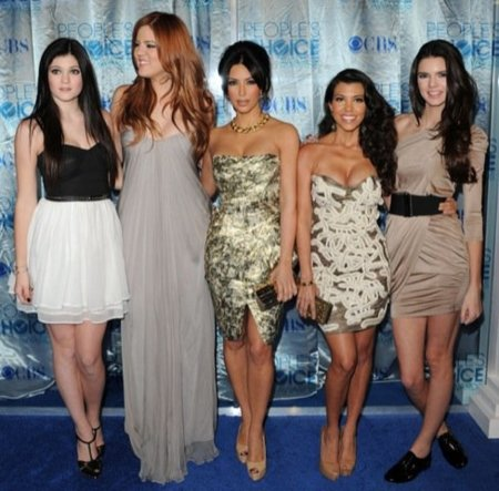 Peoples Choice Awards 2011: Kardashian