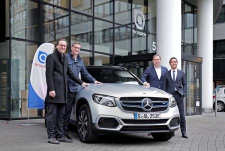 El Mercedes-Benz GLC de hidrógeno y enchufable llega a Alemania, en alquiler y aún no para particulares