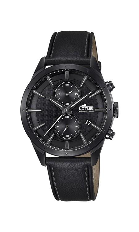 624e3da7e1d6 Ofertón  reloj Lotus Chrono en negro por sólo 111