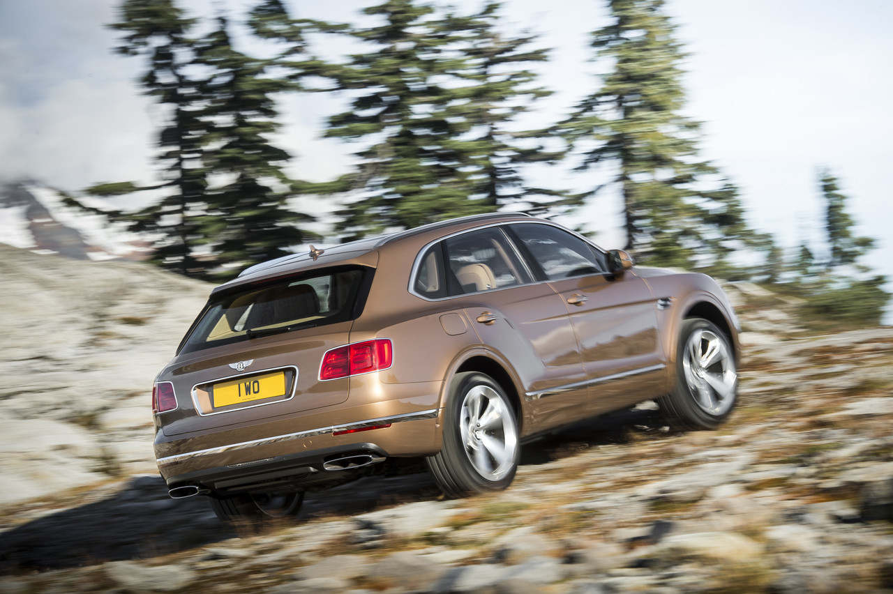 Foto de Bentley Bentayga 2015 (26/27)