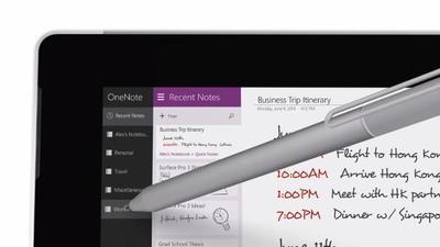 Surface Mini podría ser el complemento ideal de OneNote si Microsoft quisiera sacarlo a la venta