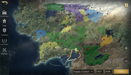 Mapa Lord Of The Rings Rise To War