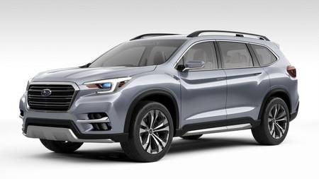 Subaru Ascend Concept, el regreso de la marca a los SUV para siete pasajeros