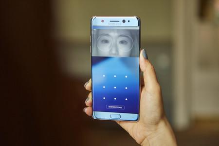Galaxy Note 7 Escaner Iris