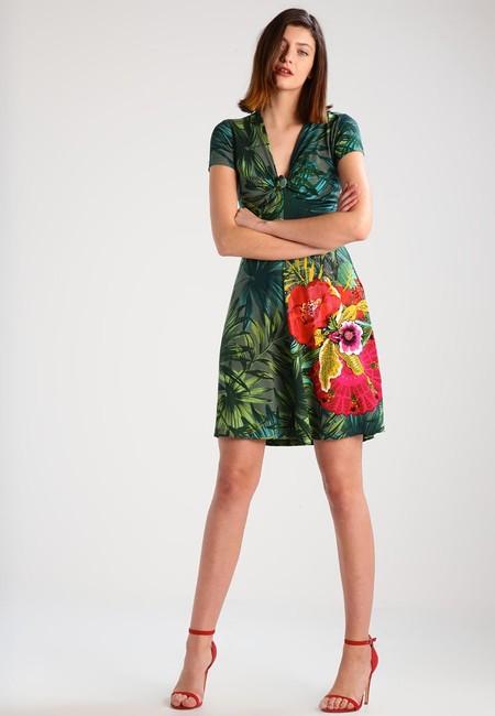 Para estrenar gran colección al por mayor 50% de descuento en el vestido Maroni Musgo de Desigual en ...