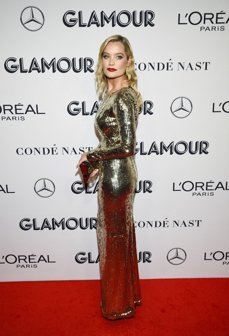 Laura Whitmore red carpet glamour women