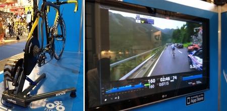 KICKR Power Trainer, simula la resistencia de circuitos reales con ayuda del iPhone