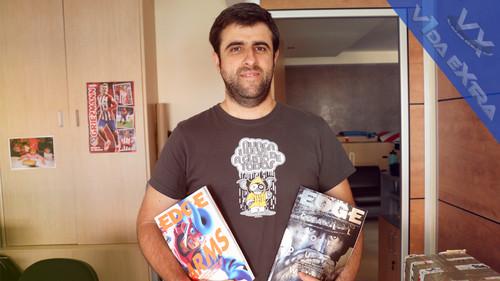 """""""La vuelta de EDGE España se debe a un empeño personal"""". Entrevistamos a José Óscar Plaza, director de la revista EDGE en España"""