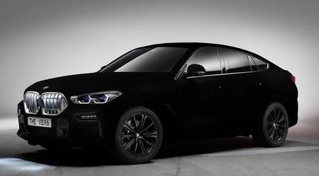 El BMW X6 Vantablack es el coche más negro del mundo gracias a esta sustancia que atrapa la luz