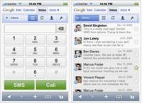 Google Voice llega a iPhone y webOS a través del navegador