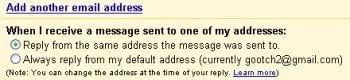 Gmail añade una opción de respuesta rápida