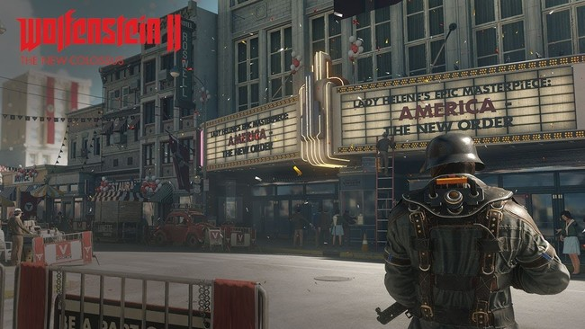 Wolfenstein dos The New Colossus