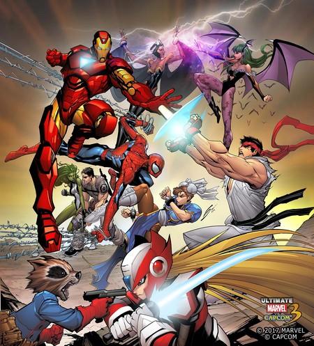 Umvc3 Comic Cover