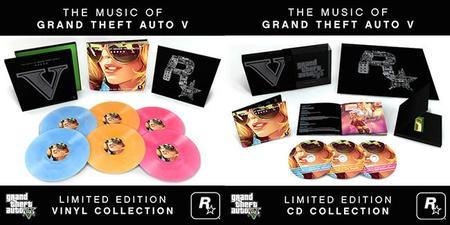 La banda sonora de GTA V saldrá a la venta en formato físico con una edición muy limitada