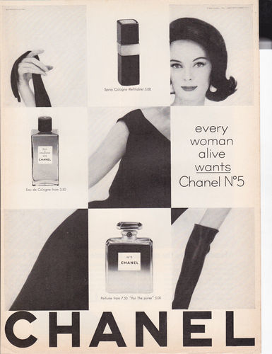 Foto de Chanel No. 5 - publicidad del 30 al 60 (26/61)
