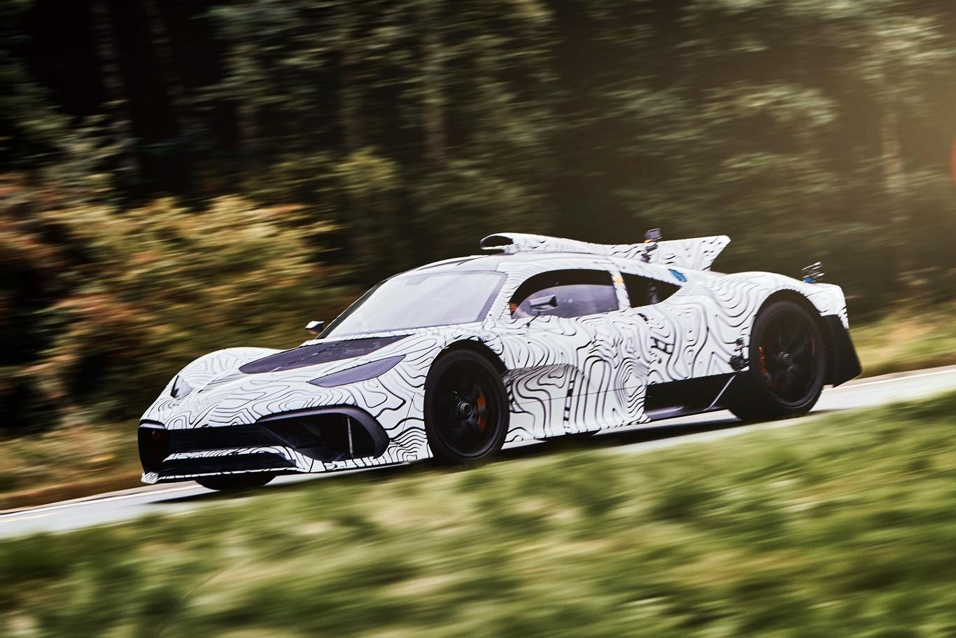 El Mercedes-AMG Project One ya ha salido a la carretera con ligeros cambios en la carrocería