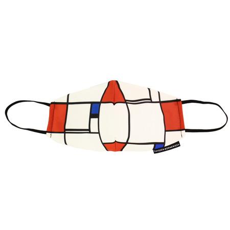 Thyssen Mascarilla Composicion Mondrian