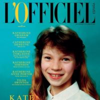 L'Officiel España se estrena con una portada protagonizada por una jovencísima Kate Moss