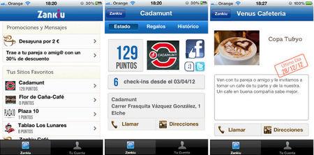 Zankiu, un servicio para fidelizar clientes con puntos gestionados desde el móvil