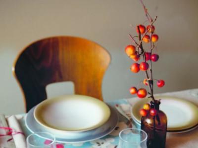 Viste tu mesa con los colores del otoño con la colección Kelly de Guzzini