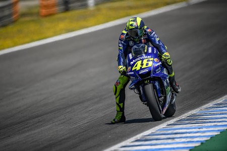 Valentino Rossi Gp Jerez Motogp 2018