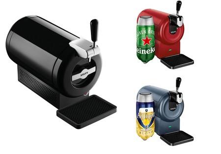 Ofertas en tiradores de cerveza Krups en Amazon: Krups The Sub y The Sub compact rebajados a 69 y 49 euros respectivamente