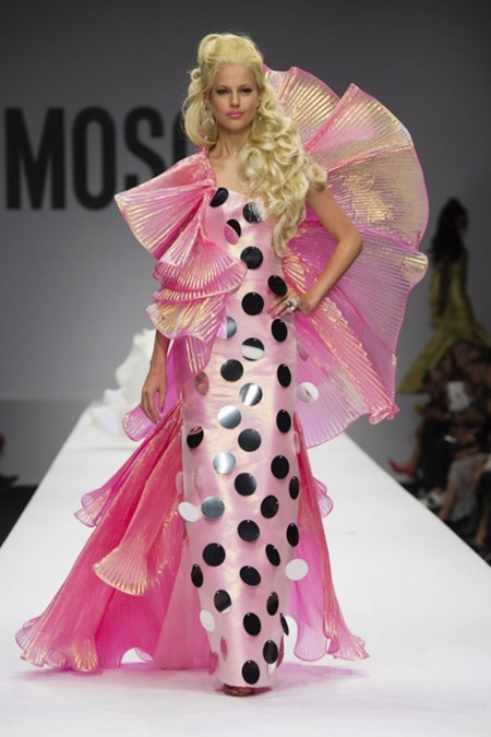 Vestido Barbie Moschino