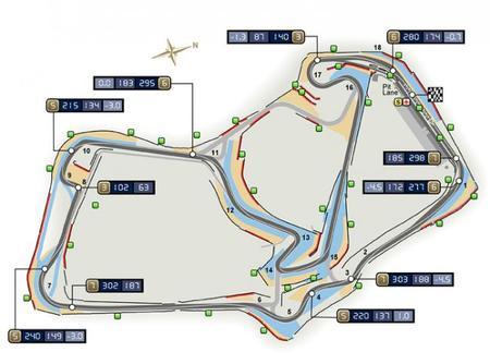 Mapa Circuito Silverstone