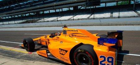 Fernando Alonso saldrá quinto en las 500 Millas de Indianápolis. Pole de Scott Dixon