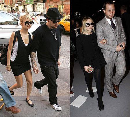 Gafas de Chanel: ¿Nicole o Mary-Kate?