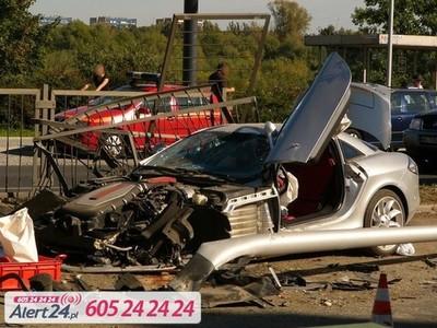 """Final trágico para un Mercedes SLR McLaren durante un """"pique"""" a plena luz del día"""