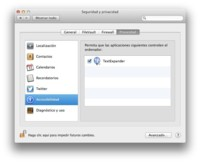 Habilita el uso de TextExpander en OS X Mavericks, para los que estéis usando la beta