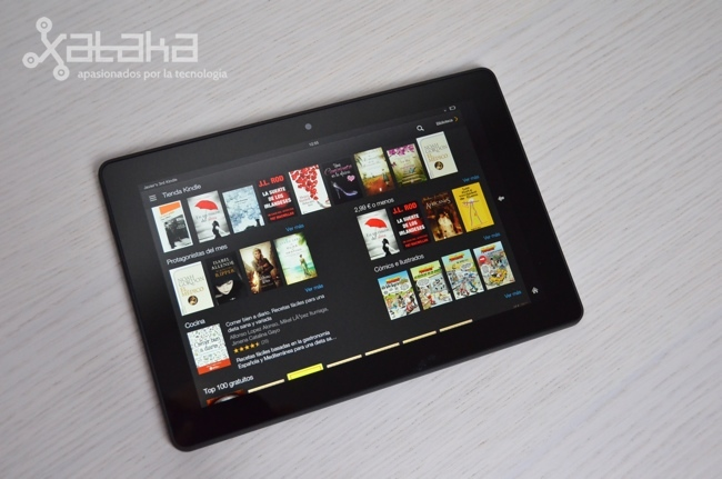Foto de Amazon Kindle Fire HDX 8.9 (10/18)