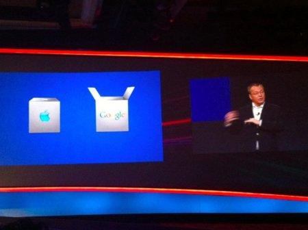 Stephen Elop hablando de iOS y Android