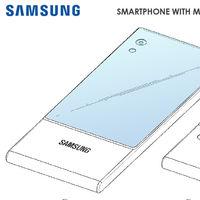 Samsung patenta un móvil con pantalla envolvente de tres caras