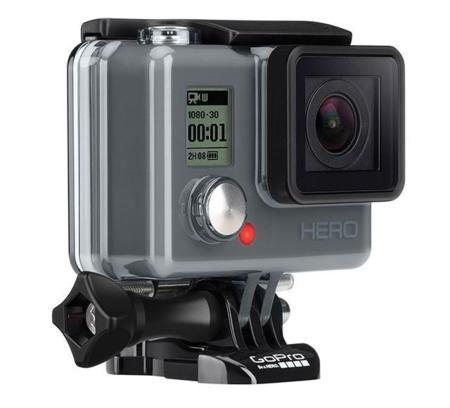 GoPro HERO, también hay sitio para una cámara de acción más asequible