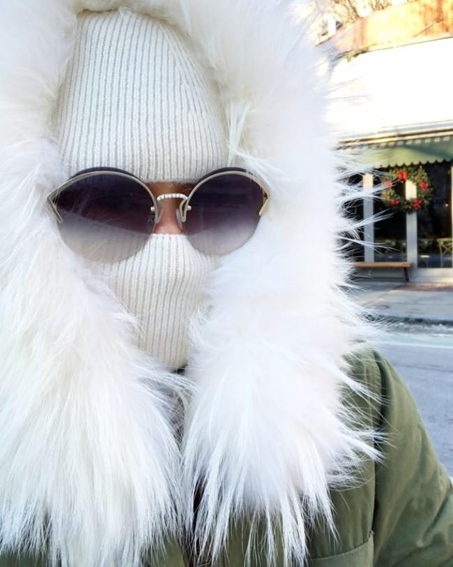 Las influencers en Nueva York nos muestran cómo vestir a -12 grados (Modo Yeti ON)