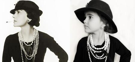 Jaime Moore fotografía a su hija inspirándose en cinco grandes mujeres de la historia