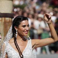 Así de sorprendente ha sido el peinado de trenzas de Pilar Rubio el día de su boda con Sergio Ramos