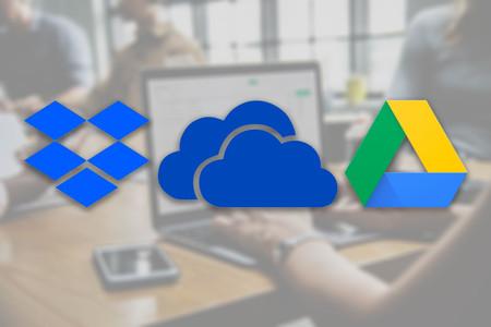 Google Drive, Dropbox y Microsoft OneDrive: comparativa de precios y características